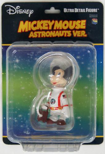 Medicom UDF-488 Ultra Detail Figure Disney Series 8 Astronaut Mickey Mouse (Vintage Ver.)