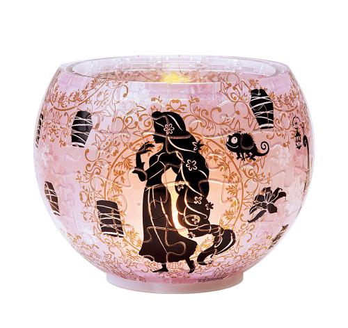 Yanoman 3D LED Lamp Shade Puzzle 2201-18 Disney Rapunzel (80 Pieces)