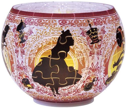 Yanoman 3D LED Lamp Shade Puzzle 2201-20 Disney Alice in Wonderland (80 Pieces)