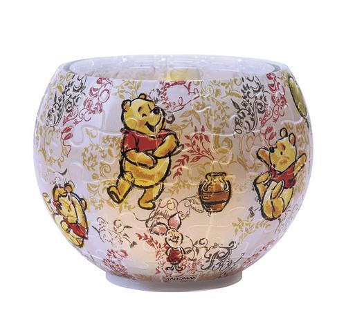 Yanoman 3D LED Lamp Shade Puzzle 2201-22 Disney Art of Winnie the Pooh (80 Pieces)