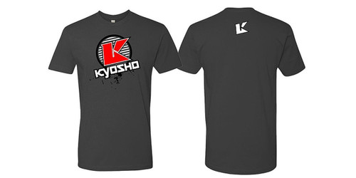Kyosho 88009XL K Circle Short Sleeve T-Shirt (Gray/Size XL)
