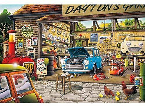 APPLEONE Jigsaw Puzzle 300-348 Hiroyuki Tanikawa Dayton's Repair Garage (300 Pieces)
