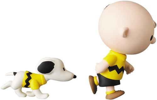 Medicom UDF-543 Ultra Detail Figure Peanuts Series 11 Charlie Brown and Snoopy