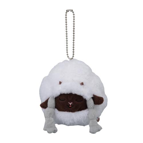 Pokemon Center Original Sleeping Wooloo Mascot