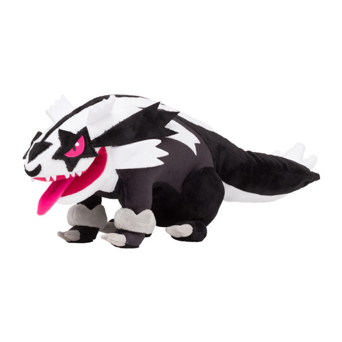 Pokemon Center Original Plush Doll Galarian Linoone (Galaru Massuguma)