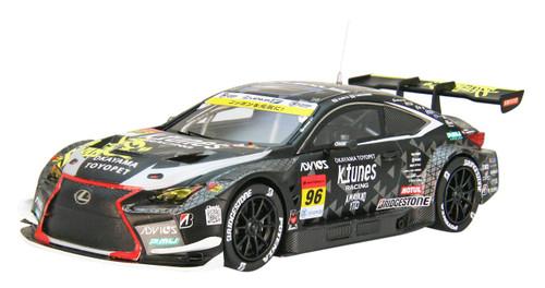 Ebbro 45651 K-tunes RC F GT3 GT300 No.96 Black1/43 scale