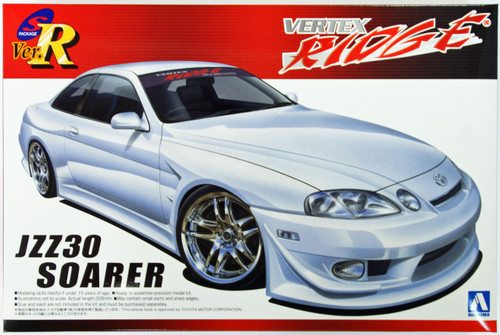 Aoshima 08119 Vertex Ridge JZZ30 Soarer 1/24 Scale Kit