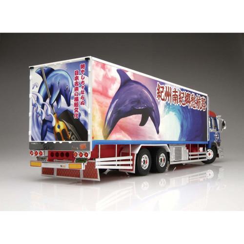 Aoshima 50439 Japanese Decoration Truck Dolphins No. 12 1/32 Scale Kit