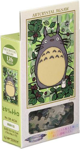 Ensky Art Crystal Jigsaw Puzzle 126-AC34 Studio Ghibli My Neighbor Totoro (126 Pieces)