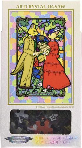 Ensky Frost Art Crystal Jigsaw Puzzle 126-AC36 Studio Ghibli Whisper of the Heart Secret Story (126 Pieces)