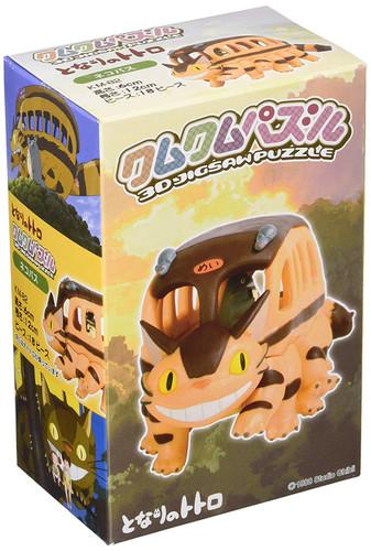 Ensky Jigsaw Puzzle KM-82 Studio Ghibli My Neighbor Totoro Cat Bus (18 Pieces)