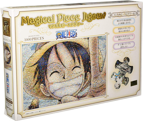 Ensky Magical Piece Jigsaw Puzzle 1000-MG04 One Piece Mosaic Art (1000 Pieces)