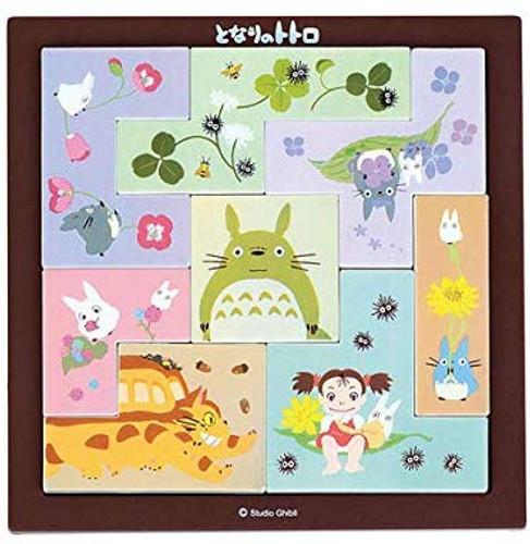 Ensky Tile Puzzle TP-01 Studio Ghibli My Neighbor Totoro (8 Pieces)