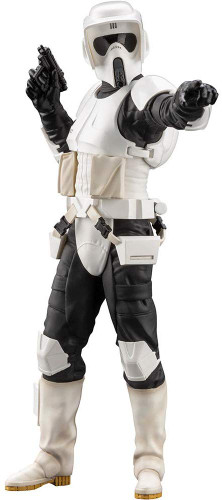 Kotobukiya SW161 ARTFX+ Star Wars Scout Trooper 1/10 Scale Figure