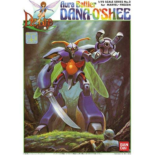 Bandai 390738 Aura Battler Dunbine Dana-O'Shee for Marvel Frozen 1/72 Scale Kit