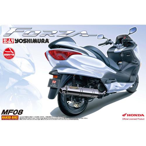 Aoshima Naked Bike 54 37966 Honda Forza 2004 Yushimura 1/12 Scale Kit