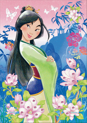 Epoch Jigsaw Puzzle Decoration 72-024 Disney Mulan Strong Heart (108 Pieces)