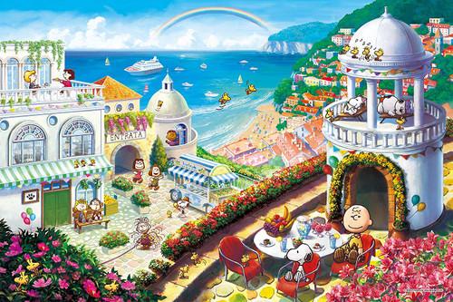 Epoch Jigsaw Puzzle 11-597s Peanuts Snoopy Vacation (1000 Pieces)