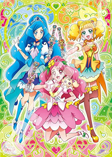 Ensky Jigsaw Puzzle 300-L560 Healingood PreCure Our Heart is Together (300 Large Pieces)