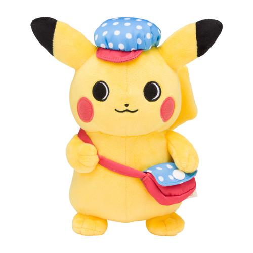 Pokemon Center Original Relaxing Life Plush Doll Pikachu