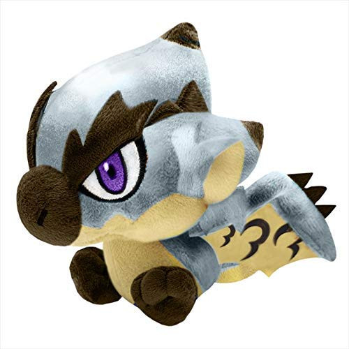 Capcom Monster Hunter Silver Rathalos Stuffed Plush Toy