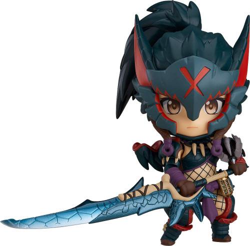 Good Smile Nendoroid 1284 Hunter: Female Nargacuga Alpha Armor Ver. (MONSTER HUNTER WORLD: ICEBORNE)