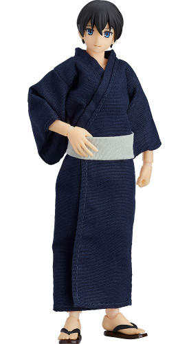 Max Factory Figma 472 Male Body (Ryo) with Yukata Outfit
