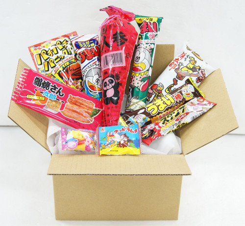 Assortment Dagashi Set Japanese Candies Chocolate Snacks - 10 Pieces Sampler NEW