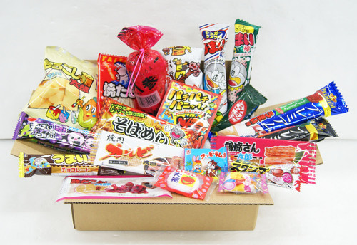 Assortment Dagashi Set Japanese Candies Chocolate Snacks - 20 Pieces Small NEW