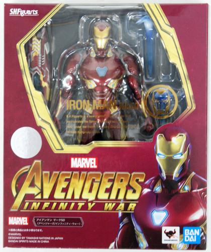 Bandai S.H. Figuarts Iron Man Mk50 Figure (Avengers: Infinity War)