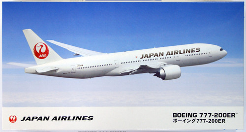 Hasegawa 10801 JAL Japan Airlines Boeing 777-200ER 1/200 Scale Kit