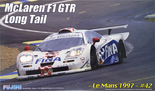 Fujimi RS-79 McLaren F1 GTR Long Tail Le Mans 1997 #42 1/24 Scale Kit 125824
