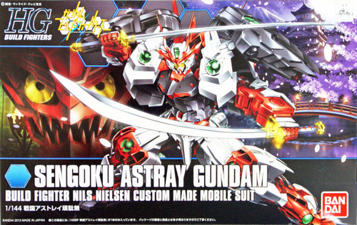 Bandai HG Build Fighters 007 SENGOKU ASTRAY Gundam 1/144 Scale Kit
