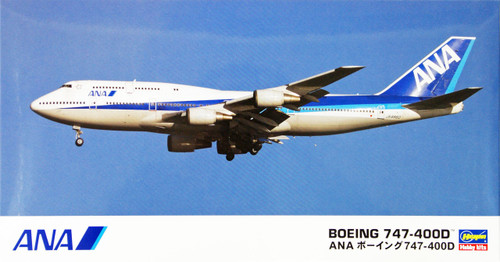 Hasegawa 10803 ANA All Nippon Airways Boeing 747-400D (Limited Edition) 1/200 Scale