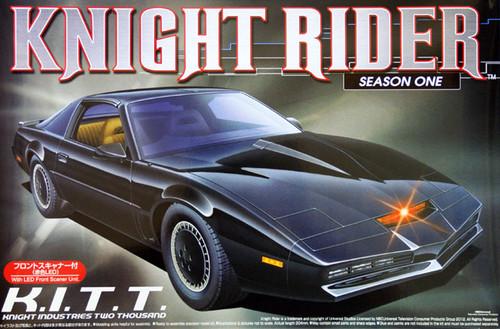 Aoshima 04524 Knight Rider KITT (KitT) Season 1 w/LED Front Scanner 1/24 Kit