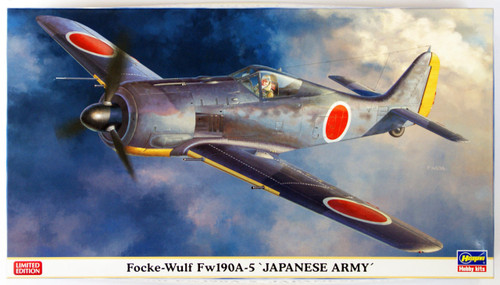 Hasegawa 07373 Focke-Wulf Fw190A-5 Japanese Army 1/48 Scale Kit