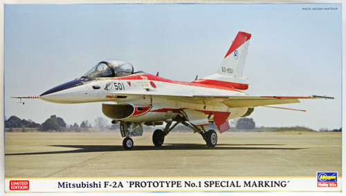 Hasegawa 02117 Mitsubishi F-2A Prototype No. 1 Special Marking 1/72 Scale Kit