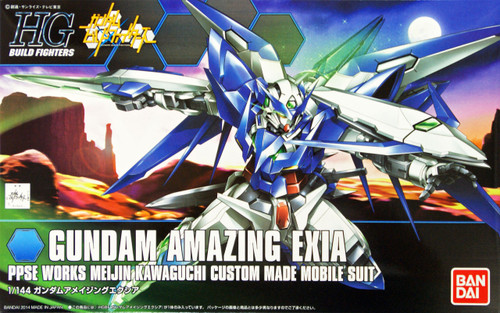 Bandai HG Build Fighters 016 Gundam AMAZING EXIA 1/144 Scale Kit
