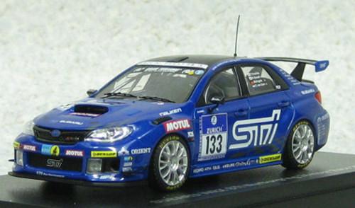 Ebbro 44989 Subaru WRX STI Nurburgring 24-hour Race 2011 #133 1/43 Scale