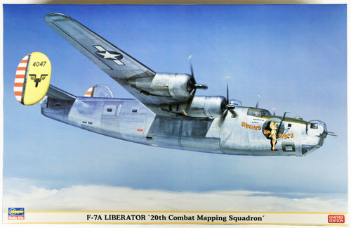 Hasegawa 02114 F-7A Liberator 20th Combat Mapping Squadron 1/72 Scale Kit