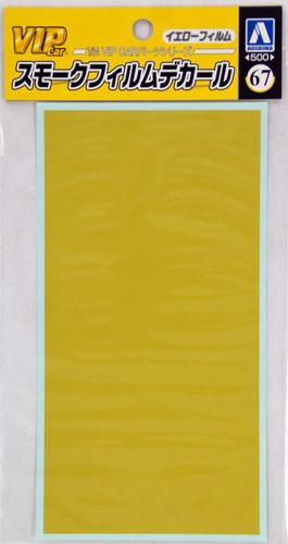 Aoshima 36402 Yellow Film Decal for VIP Car 1/24 Scale
