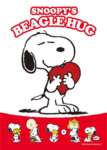 Apollo-sha Jigsaw Puzzle 41-709 Peanuts Snoopy Beagle Hug (108 Pieces)