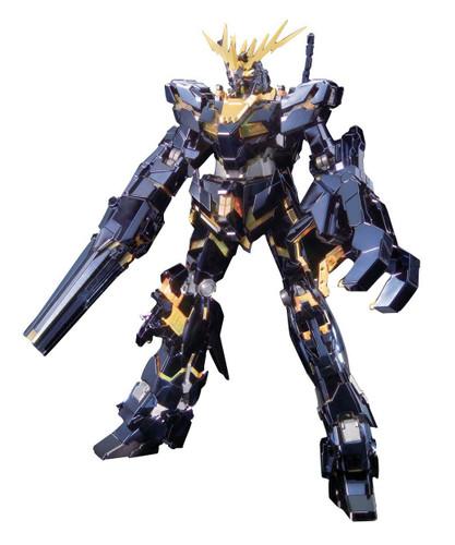 Bandai MG 807755 Unicorn Gundam 02 Banshee Titanium Finish Version 1/100 Scale Kit