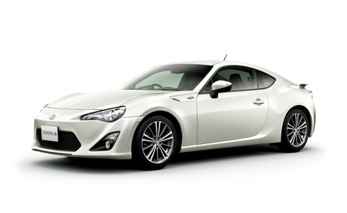 Aoshima 10051 Toyota 86 GT Limited 2012 Satin White Pearl 1/24 Scale Kit (Pre-painted Model)