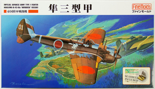 Fine Molds FB18 Imperial Japanese Army Type 1 Fighter Nakajima Ki-43-IIIa Hayabusa (Oscar) 1/48 Scale Kit