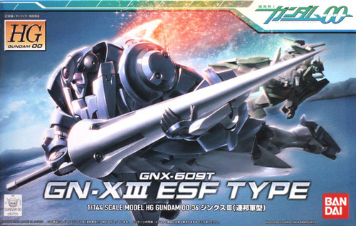 Bandai HG OO 36 Gundam GN-X III ESF TYPE 1/144 Scale Kit