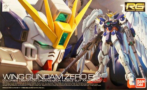 Bandai RG-17 Gundam Wing Gundam Zero EW 1/144 Scale Kit