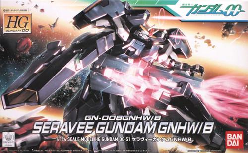 Bandai HG OO 51 Gundam SERAVEE GNHW/B 1/144 Scale Kit