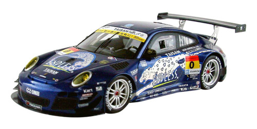 Ebbro 44925 ENDLESS TAISAN PORSCHE SUPER GT300 2013 No.0 BLUE 1/43 Scale