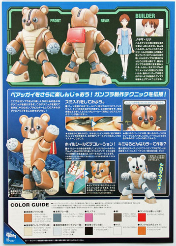 Bandai HG GB 004 Gundam GPB-04B BEARGGUY 1/144 Scale Kit